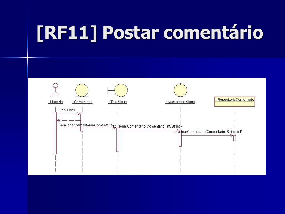 [RF11] Postar comentário